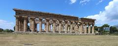 IMG_4949 - IMG_4950 Paestum (drayy) Tags: paestum greek rome roman ancient town temple italy europe campania magnagraecia panorama