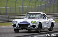 Chevrolet Corvette C1 1962 (S. Le Bozec) Tags: sportauto racingcars lemans lemansclassic chevrolet corvette