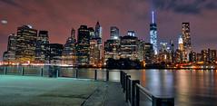 Lower Manhattan (Joe Marcone (3.1 Million+ Views)) Tags: lowermanhattan manhattan wtc worldtradecenter freedomtower night brooklyn 1001nights