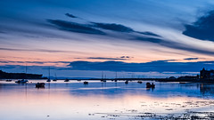 Bay Twilight (Stoates-Findhorn) Tags: 2018 findhorn scotland moray firth twilight bay boats village coast dusk unitedkingdom gb