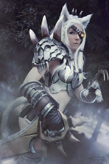 League of Legends: Rengar Cosplay [ Japan Expo 2018 ] (junkeephotography) Tags: rengarcosplay leagueoflegendscosplay lolcosplay cosplayer cosplay cosplays cosplayers cosplaygirl armorgirl evafoam hell portrait smoke forest shooting leagueoflegends lols girls badass france paris japanexpo japan expo effect effet personne girlphotography photography photoportrait eos canon sigmaart artist foret photoshop fx convention parcexpo parcexposition 2018 japanexpo2018 jungle jungler invisible girlportrait naturallight light natural nature naturel sexycosplay armorcosplay armor foam lion king teeth sword