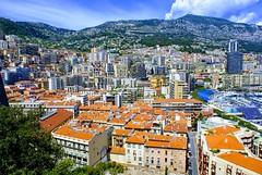 Rooftops in Monaco (LUMEN SCRIPT) Tags: colours tourism travel monaco