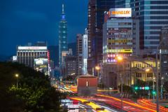 2018.07.14 台北 / 北門 (MaxChu) Tags: taiwan taipei 台北 台北101 北門 車軌 夜景 taipei101 lighttrail nightview