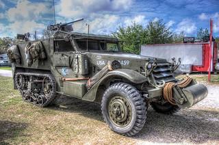 US WWII 1943 M15 Half Track