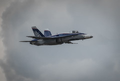 Canadian Hornet (dickiebirdie68) Tags: aircraft military airshow flight flying riat fairford clouds sky