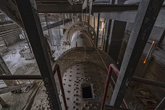 revolving through the night (berny-s) Tags: industry factory abandoned lost urbex lime cement works mill