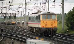 Mossend 86415 22jun89 c438 (Ernies Railway Archive) Tags: mossendyard cr lms scotrail
