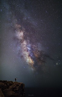 Photo booming the Milky way