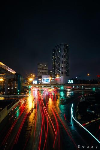 Rainy day in Hanoi