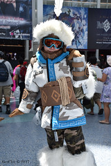Mei, Yeti Hunter (GetChu) Tags: anime expo 2017 cartoon gaming cosplay cosplayer coser japanese american character los angeles convention center tv mei yeti hunter overwatch