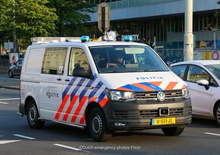 Dutch police K9 Volkswagen Transporter 6