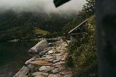 C99C3413-B1B3-4D63-BEA8-FF8A03E5B5C2 (jullietserov) Tags: mountain mountains poland zakopane lake nature forest water fog waterfall rain clouds trees bridge