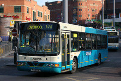 2714 Y714 KNF (Cumberland Patriot) Tags: arriva north west england on merseyside in liverpool volvo b10ble wright renown 2714 y714knf low floor bus
