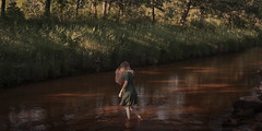 The River (VINSO Photographie) Tags: art vinso dress robe vintage riviere nikon d800 bordeaux david lost seul cap ferret andernos aquitaine arcachon
