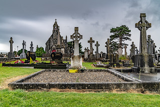 THIS IS THE NEW CEMETERY, BOHERMORE [SOME OBJECTED WHEN I ONCE DESCRIBED AS A VICTORIAN CEMETERY]-141355