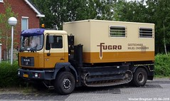 MAN F2000 19.364 1999 (XBXG) Tags: bhnh64 man 19364 1999 fugro f2000 f2000c manf2000 tracktruck geotechniek milieukunde grondmechanica grondboortechniek buizenschroever geohydrologie sondeerwagen sondering cone penetration conepenetration penetrometer test cpt soil drucksondierung pénétromètre statique rups rupsaandrijving tank tread chenille milieu onderzoek milieuonderzoek nederland holland netherlands paysbas german truck camion allemande vrachtwagen vrachtauto véhicule poids lourd lastkraftwagen lkw lastwagen deutsch deutschland lastbil vervoer transport vehicle outdoor mobile geotechnic lab