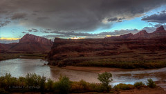 Colorado River evening (Chief Bwana) Tags: ut utah whiterim potashroad coloradoriver river canyonlands psa104 chiefbwana