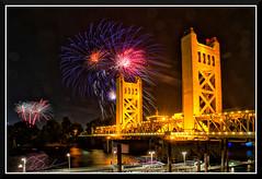 Fireworks_0721 (bjarne.winkler) Tags: pre 4th july independence day river cats fireworks over tower bridge sacramento