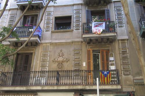 Llibertat presos politics! El Raval, Barcelona