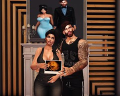 It's a Girl! (AW02) Tags: sl secondlife photography family love couple pregnancy moment mesh avatars poses yasumdesign