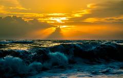 Wrath of the Lich King (WezMount) Tags: lights blue orange phuquoc vietnam seascapes ocean island sunset waves mer coucher de soleil océan plage beach canoneos200d canonrebel power asia serenity calm
