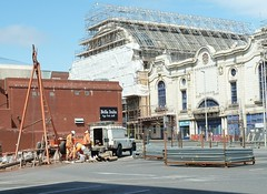 20180717 Site for new Wilko in Blackpool (blackpoolbeach) Tags: blackpool drilling foundations shopping centre houndshill wilko wilkinsons imax cinema sunshine wintergardens olympia scaffolding galleon pub carpark shop store