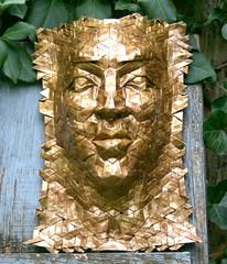 soleil 5 (origami joel) Tags: origami mask origamijoel