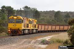6028 6025 4415 loaded ore Monjingup 5 April 2018 (RailWA) Tags: railwa philmelling 2018 esperance 6028 6025 4415 loaded ore monjingup
