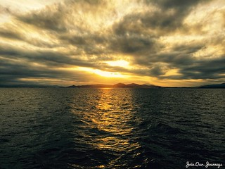 Sunset off the Greek Isles