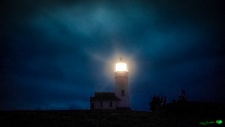 NIGHT RAYS-CAPE BLANCO LIGHTHOUSE-HDR 2018 © Cody Jacobson-ZEN MOUNTAIN MEDIA all rights reserved