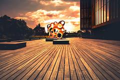 Glowing Rubato (Maria Eklind) Tags: skåne malmö sweden street city arkitektur malmölive architecture evahild europe publicart rubato skånelän sverige se