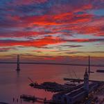 Burning Sky - San Francisco Bay thumbnail