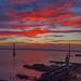 Burning Sky - San Francisco Bay