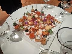 canapés (sogni_hal) Tags: amusegueule canapé champagne coctail food party