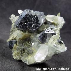 Хорошообразованный кристалл Галенита композиционно расположившийся на матрице Кварца (Каталог Минералов) Tags: минералы камень хорошообразованный кристалл галенита композиционно расположившийся на матрице кварца mineral stone