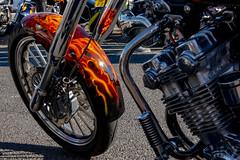 fire bike (Mark Rigler -) Tags: motorbike motorcycle flame wheel