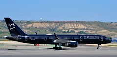 TAG Aviation (UK) Ltd Boeing 757-2K2(WL) msn 26330 G-TCSX (djwilliams1990) Tags: madrid barajas adolfosuarez spain aviation aircraft