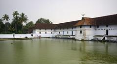 KERALA VAIKOM MAHADEVA TEMPLE SACRED POND 587n (opaxir) Tags: india kerala temple water sacred vaikom mahadeva pond