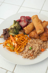 Bon Voyage Party. (LisaDiazPhotos) Tags: chinese food daniels bon voyage party lisadiazphotos