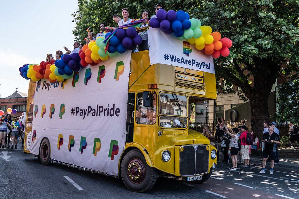 ABOUT SIXTY THOUSAND TOOK PART IN THE DUBLIN LGBTI+ PARADE TODAY[ SATURDAY 30 JUNE 2018] X-100129