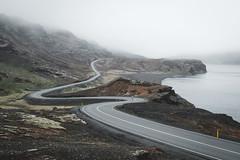Epic iclandic roads (Sunny Herzinger) Tags: 2018 iceland landscape north mist mountains westfjords moody fog weather road may southernpeninsularegion is