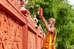 Monkhood (joshlphotography) Tags: monk cambodia khmer buddhism