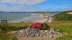 Peace Cairn (mcginley2012) Tags: rossnowlagh coast sky sea peacecairn summer2018 codonegal ireland beach donegalbay roses stones