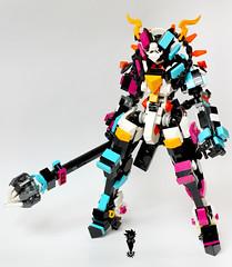 new JOKER (Chokolat Shadow AKA PixelMeCrazy) Tags: lego mech mecha moc joker