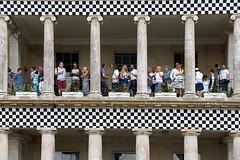 2018 Festival of Speed (Ian Macfadyen) Tags: festivalofspeed goodwood motorracing racecircuit motoringevent f1 racecar speed porsche celebration goodwoodhouse balcony