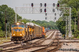 UP 4675 | EMD SD70M | UP Memphis Subdivision