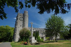 """""""A ton up!"""" Memories from a 100k bike ride...... (favmark1) Tags: tonup 100k chilham chilhamchurch cycle kent stmaryschurch"""