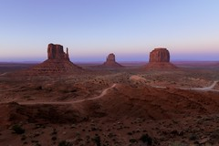 Dusk at Monument Valley (justin_crny24) Tags: desert mittens landscape 5div canon photo monumentvalley arizona