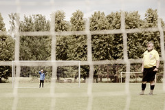 přebor:. (sempull_tampush) Tags: football match game play summer hot weekend sunny goal goalkeeper referee pitch