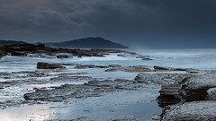 Dark and Stormy Early Morning Seascape (Merrillie) Tags: daybreak theskillion clouds nature water terrigal nsw rocky sea weather newsouthwales rocks earlymorning morning landscape centralcoast ocean australia sunrise waterscape coastal outdoors sky seascape dawn coast cloudy waves